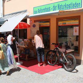 Reformhaus Buchegger Außenbereich
